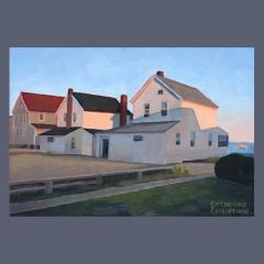 Cottages, Hawk's Nest, Twilight #1