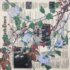 Autumn (November) - Chrysanthemums, Bittersweet, & Poison Ivy