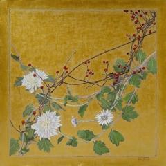 Autumn - Chyrsanthemums & Bittersweet