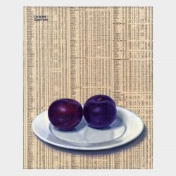 "Painting ""Plums"""