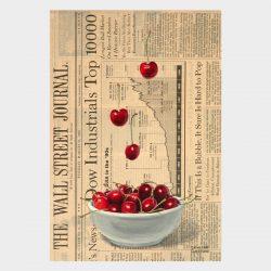 "Painting ""Bowl of Cherries #3"""