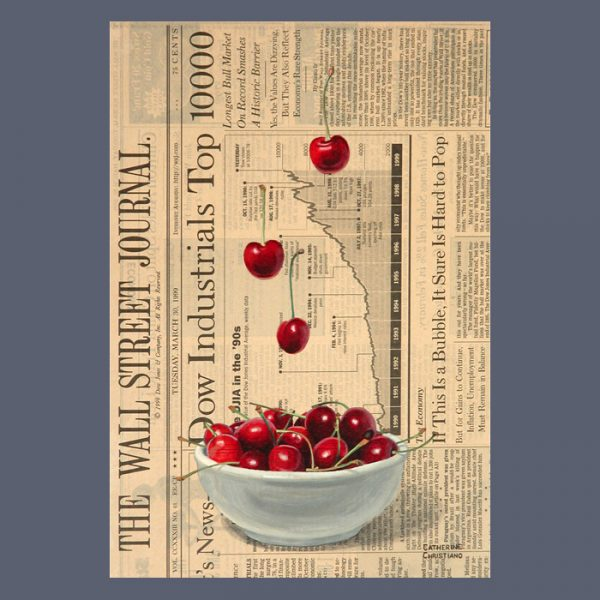 Still Lifes on Newspaper - Limited Edition Reproductions
