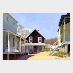 """Painting """"Cottages, Hawk's Nest #7"""""""