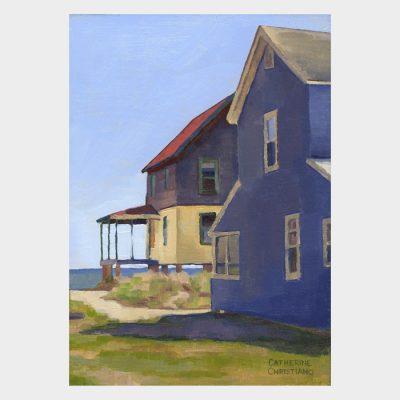 """Painting """"Cottages, Hawk's Nest #8"""""""