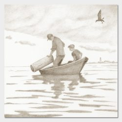 Old Lyme Historical Society - Poverty Island - Limited Edition Reproductions