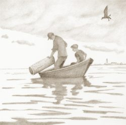 "Reproduction ""Baiting the Eel Trap"""