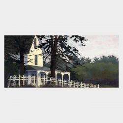 "Painting ""Cottage at Edge Lea"""