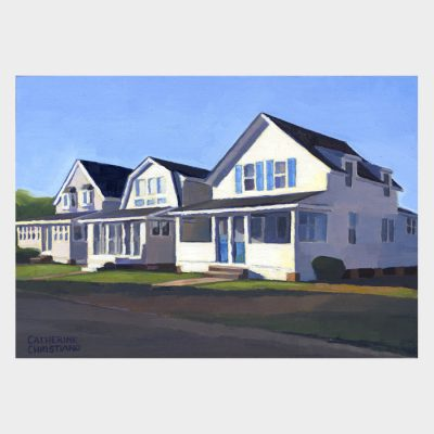 "Painting ""Cottages, Old Lyme #1"""
