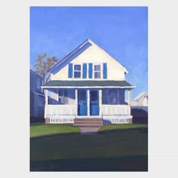 "Painting ""Cottage, Old Lyme #2"""