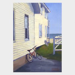 Cottage with Bicycle