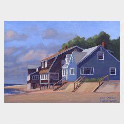 """Painting """"Cottages, Hawk's Nest #14"""""""