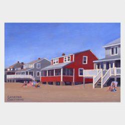 """Painting """"Cottages, Hawk's Nest #15"""""""
