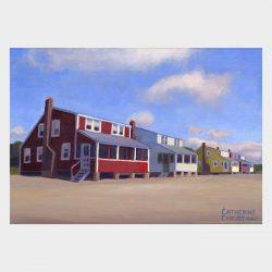 """Painting """"Cottages, Hawk's Nest #16"""""""