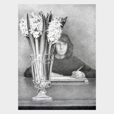 "Lithograph ""Hyacinths"""