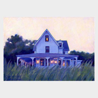 """Painting """"Twilight, Edge Lea"""""""