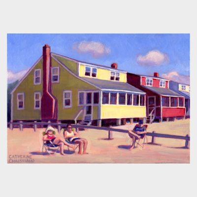 "Painting ""Summer Rentals, Hawk's Nest"""