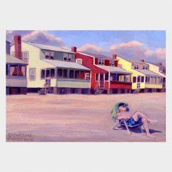 "Painting ""Summer Rentals, Hawk's Nest #2"""