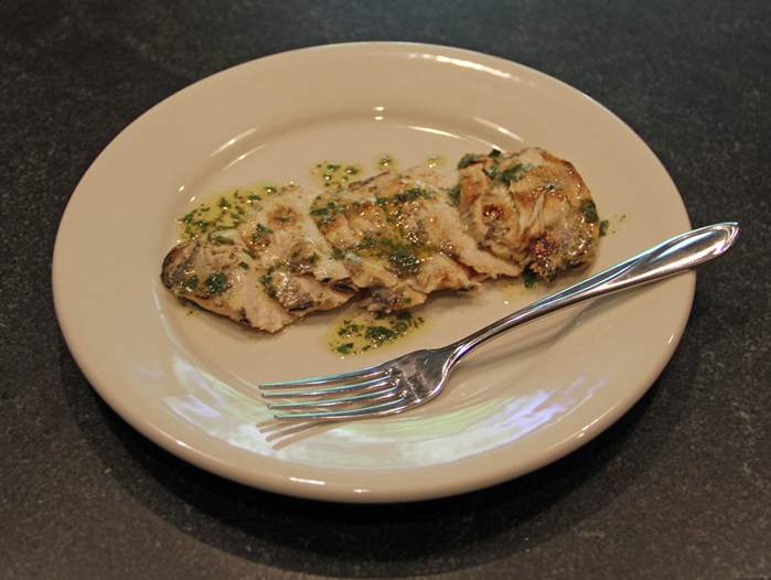 Grilled Lemon Parsley Chicken