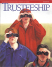 Trusteeship magazine with cover art by Catherine Christiano